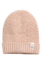 Glittery hat - Powder/Glittery - Kids | H&M CN 1