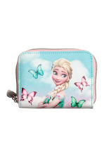 Printed purse - Light Turquoise/Frozen - Kids | H&M CN 1
