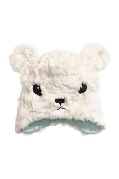 Faux fur hat - White - Kids | H&M CN