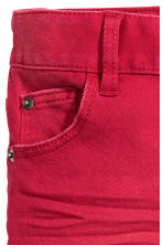 Stretch trousers - Red - Kids | H&M CN 4