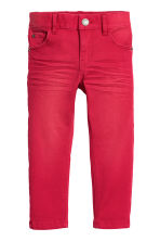 Stretch trousers - Red - Kids | H&M CN 2