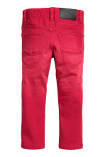 Stretch trousers - Red - Kids | H&M CN 3