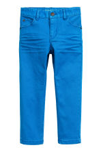Stretch trousers - Cornflower blue -  | H&M CN 2