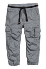 Cargo pants - Dark grey - Kids | H&M CN 2