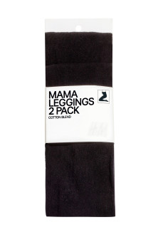 MAMA Leggings, 2 pz