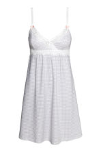 MAMA Nightslip - White/Patterned - Ladies | H&M CN 2