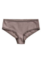 4-pack hipster briefs - Burgundy - Ladies | H&M CN 3