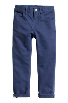 Pantalón de sarga Regular fit