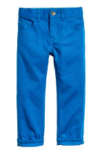 Twill trousers Regular fit - Cornflower blue -  | H&M CN 2