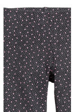 Sturdy jersey leggings - Dark grey/Hearts - Kids | H&M CN 3