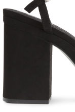 Platform sandals - Black - Ladies | H&M CN 5