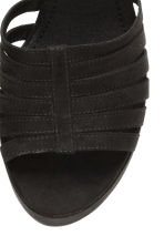 Platform sandals - Black - Ladies | H&M CN 4