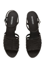 Platform sandals - Black - Ladies | H&M CN 3