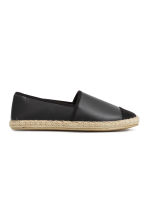 Espadrilles - Black - Ladies | H&M CN 1