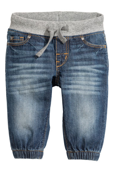 Jeans pull-on - Blu denim -  | H&M IT