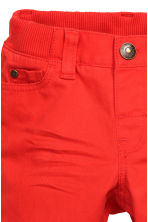 Twill trousers - Red - Kids | H&M CN 3