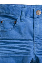 Corduroy trousers - Cornflower blue - Kids | H&M CN 4