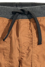 Lined pull-on trousers - Camel - Kids | H&M CN 3