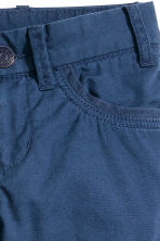 Lined cargo pants - Dark blue - Kids | H&M CN 4