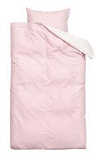 Patterned duvet cover set - Light pink - Home All | H&M GB 2