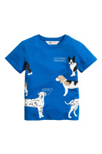 Cornflower blue/Dogs