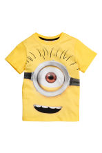 Printed T-shirt - Yellow/Minions - Kids | H&M CN 2