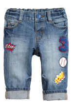 Straight Jeans - Denim blue - Kids | H&M CN 1