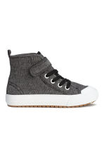 Hi-top trainers - Black marl - Kids | H&M CN 2