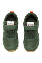 Mesh trainers - Dark khaki green - Kids | H&M CN 2