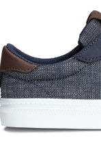 Denim trainers - Dark denim blue - Kids | H&M CN 4