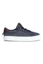 Denim trainers - Dark denim blue - Kids | H&M CN 2