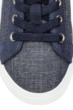 Denim trainers - Dark denim blue - Kids | H&M CN 5