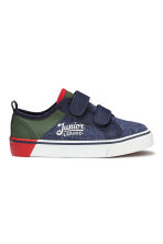 Jersey trainers - Dark blue marl - Kids | H&M CN 2