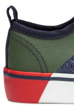 Jersey trainers - Dark blue marl - Kids | H&M CN 5