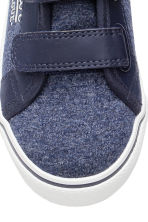 Jersey trainers - Dark blue marl - Kids | H&M CN 4