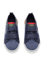 Jersey trainers - Dark blue marl - Kids | H&M CN 3