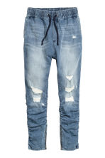 Slim Low Joggers - Denim blue - Men | H&M CN 2