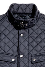Quilted jacket - Dark blue - Men | H&M 4