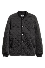 Quilted jacket - Black - Men | H&M CN 2