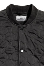 Quilted jacket - Black - Men | H&M CN 3