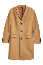 Cashmere-blend coat - Camel - Men | H&M GB 2