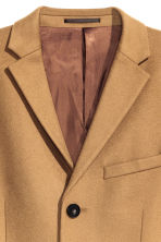 Cashmere-blend coat - Camel - Men | H&M GB 4