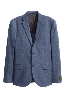 Jacket in a linen blend