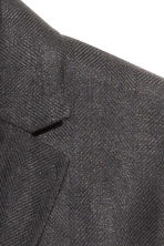 Linen jacket - Black - Men | H&M CN 3