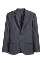 Blazer in lana - Blu scuro - UOMO | H&M IT 2