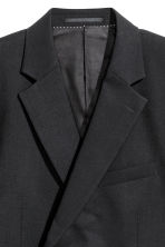Wollen blazer Slim fit - Zwart - HEREN | H&M BE 3