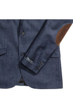 Giacca in misto lana Slim fit - Blu scuro - UOMO | H&M IT 3