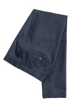 Chinos in cotone premium - Blu scuro - UOMO | H&M IT 3