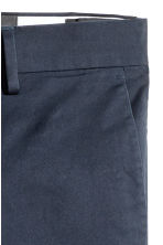 Premium cotton chinos - Dark blue - Men | H&M 4