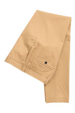 Premium cotton chinos - Beige - Men | H&M CN 3